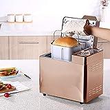 Estante de la máquina del pan hecho en casa Profesional automático digital Pan Breadmaker temporizador de memoria...