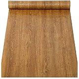 Vinilo autoadhesivo de papel pintado de grano de madera sintética para armarios de cocina, estantes, cajones, encimeras, mesas, muebles, puertas, calcomanías de pared