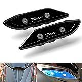 T-MAX 530 Espejos Laterales Tapacubos de Aluminio CNC para Yamaha T-MAX 530 TMAX530 Tmax 530 2012 2013 2014 2015 2016 2017 Negro