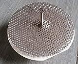 WMT Skimmer-Chapa perforada de acero inoxidable Skimmer, accesorio de piscina, limpieza de piscina, acero inoxidable para skimmer cestas 150 mm