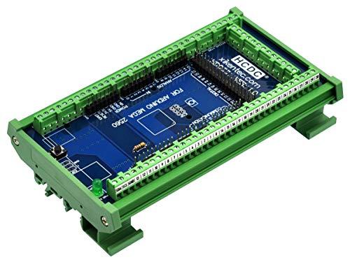 Módulo de bloque de terminales de ruptura de montaje en carril DIN para Arduino MEGA-2560 R3