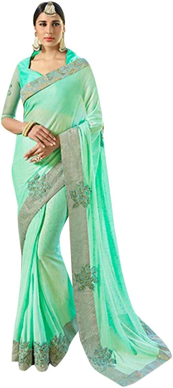 Rakhi Eid Festival Designer Drape Dress Saree Sari party wear women gown Ceremony 2860 6
