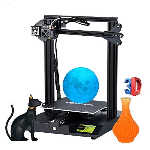 Aibecy Kit d'imprimante de bureau 3D LOTMAXX SC-10 Impression silencieuse 235 x 235 x 280 mm Volume de compilation avec écran tactile de 3,5 pouces