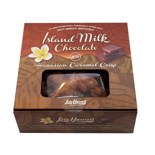 アイランドミルクチョコレートwithハワイアンキャラメルクリスプ