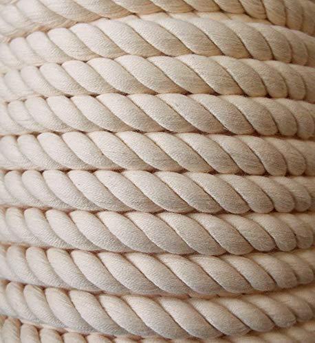 Großhandel für Schneiderbedarf 3 m Baumwollkordel 10 mm Natur 2,43€/m