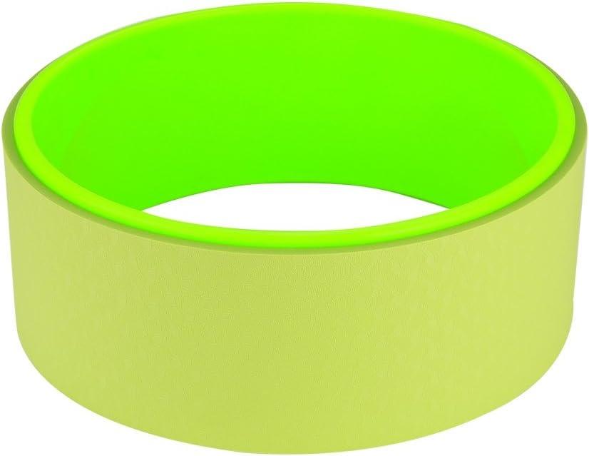 Rueda de Yoga 2 Colores para Hacer Yoga el/ástica Pilates y Otros Ejercicios de Fitness lyrlody