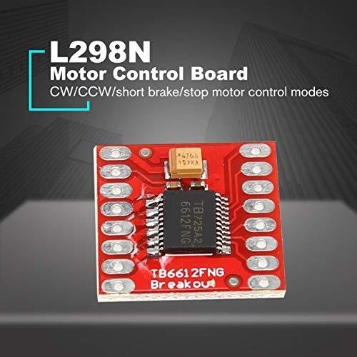 Placa del controlador del módulo del conductor TB6612FNG CC dual del motor de pasos para Arduino