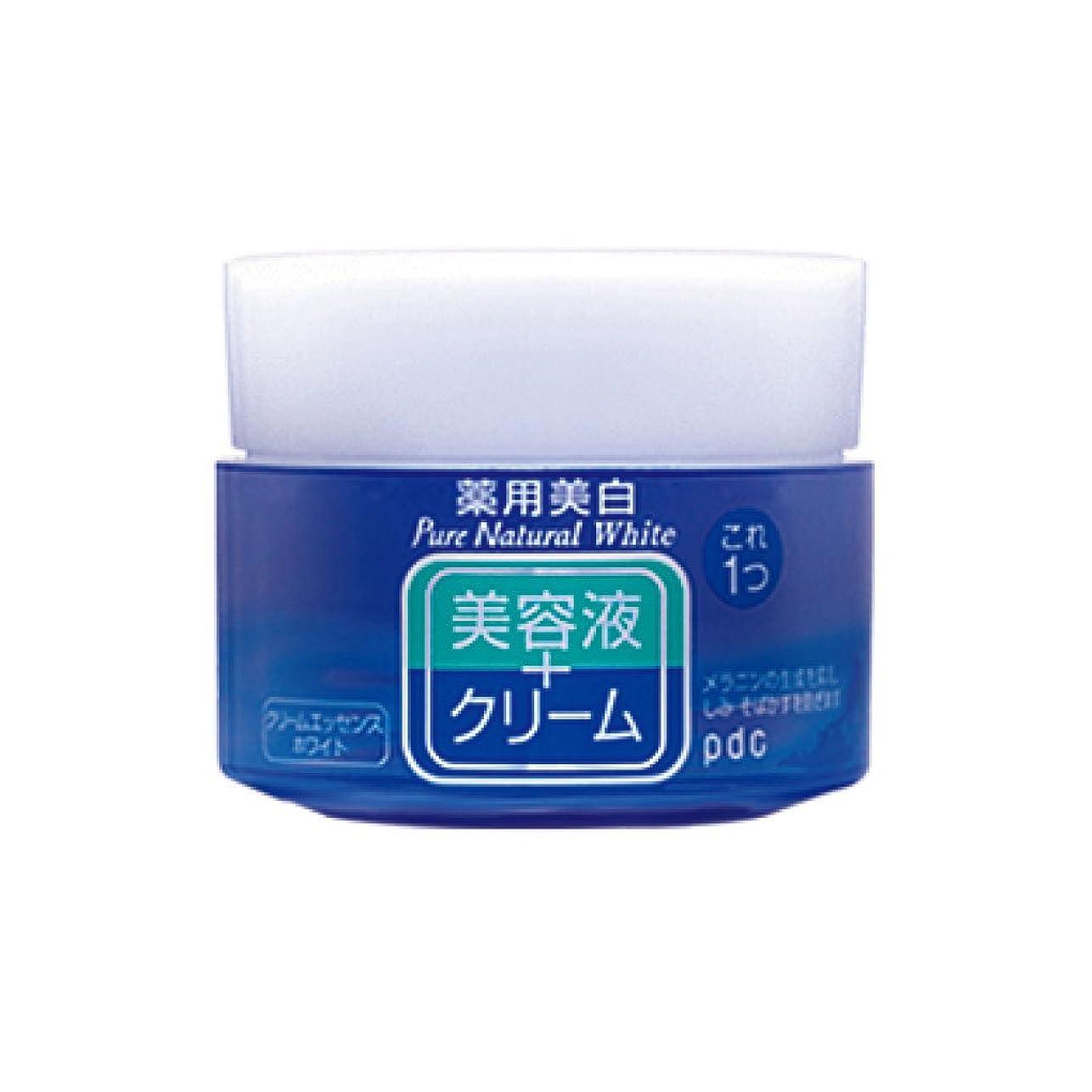 足首印象的な消化Pure NATURAL(ピュアナチュラル) クリームエッセンス ホワイト 100g (医薬部外品)