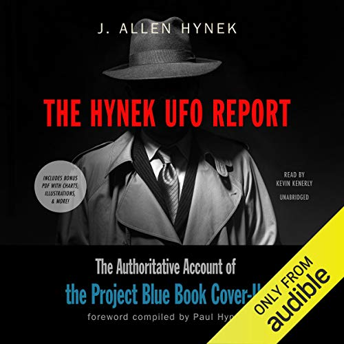 The Hynek UFO Report audiobook cover art