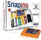 Snap Circuits Snapino - Making Coding A Snap - Snap Circuits & Arduino Compatible | Perfect Introduction to Arduino Coding 9v batteries May, 2021