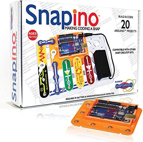 Snap Circuits Arduino Compatible | Perfetta introduzione alla codifica | STEM Educational...