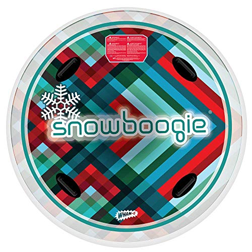 Wham-O Snowboogie Air Tube 48' | Single or Double Rider Snow Sleds | Inflatable Sled with Soft...