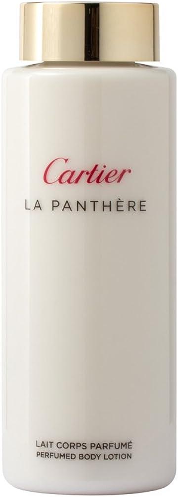 Cartier panthere, lait body, 200 ml, latte corpo donna 2165_3495