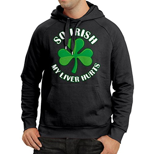 Pullover met capuchon St. Paddy's Day Sayings Shirts, So Irish