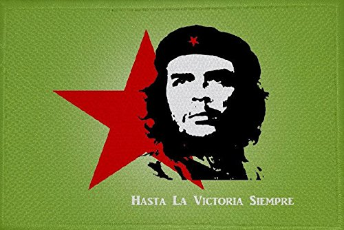 U24 Aufnäher Che Guevara grün Motiv Nr. 1 Fahne Flagge Aufbügler Patch 9 x 6 cm