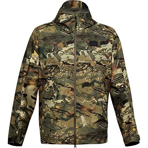 Under Armour Men's GORE-TEX Essential Hybrid Jacket , Ua Forest 2.0 Camo (988)/Black , Large
