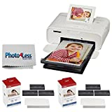 Best Apple Photo Printers - Canon SELPHY CP1300 Compact Photo Printer (White) + Review