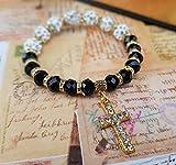 Zoom IMG-1 nazareth store bracciale con croce