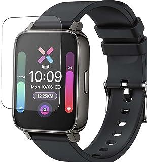 Vaxson 3-pack skärmskydd, kompatibel med Donerton P36 1,7 tum smartwatch smartklocka, TPU skyddsfilm skydd klistermärke [I...