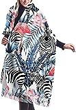 Wickeldecke Schal, Women's Scarf Tropical Animal Flamingo Zebra Classic Tassel Plaid Scarf Autumn And Winter Warm Scarf