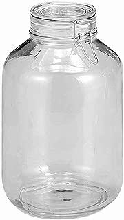 Bormioli Rocco Large Glass Fido Canning Jar - 5 Liter