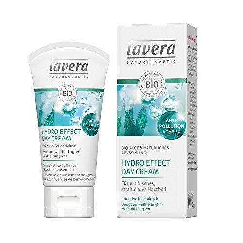 lavera Hydro Effect Day Cream ∙ Bio-Alge & Natürliches Abyssinianöl ∙ Intensive Feuchtigkeit ∙ vegan Bio Pflanzenwirkstoffe Naturkosmetik 50 ml