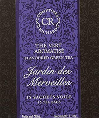 Comptoirs Richard Thé Vert Jardin des Merveilles