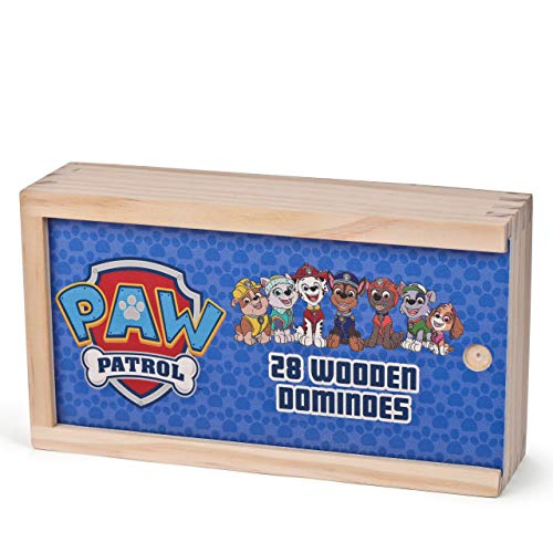 PAW PATROL- Dominó de Madera (8th Wonder 1366)
