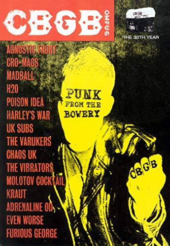 Various Artists - CBGB: Punk FromThe Bowery