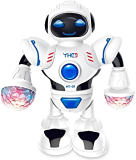 Anniston Kids Toys, Electric Singing Dancing Robot with Flashing LED Light Interactive Kids Toy Gift Smart Toys Perfect Fu...