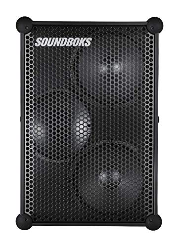 The New SOUNDBOKS (3rd Gen) - The Loudest Portable Bluetooth Performance Speaker (126 dB, Wireless, Bluetooth 5.0, Swappable Battery, 40Hr Average Playtime) (1BB)