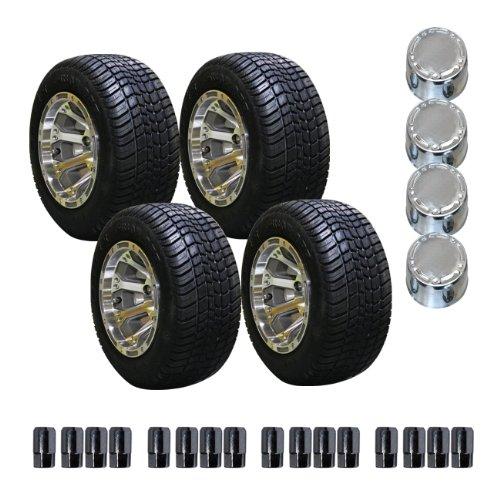 EZGO 750279PKG Pro Tour Reifen und 25,4 cm Alufelgen