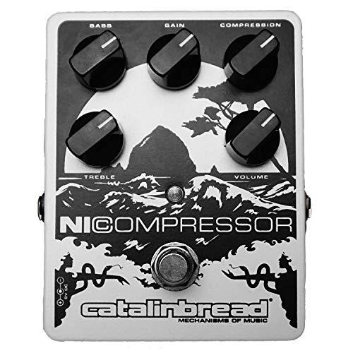 Catalinbread NiCompressor Pedal, White Soft Pearl