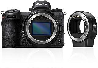 Nikon VOA020K008 System-Digitalkamera + Ftz-Adapter, 64 GB, Svart
