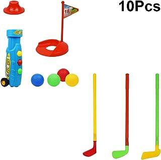 TOYANDONA 10 Piezas Juego de Golf para Niños, Juego de