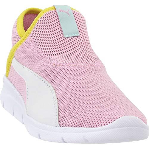 PUMA Kids Girls Bao 3 Sock - Sneakers Shoes Casual - Pink - Size 2 M