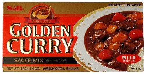 SampB Golden Curry Sauce Mix Mild 84Ounce