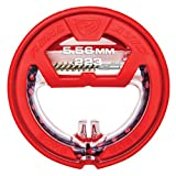 Bore Boss .223CAL - Clean Storing, Pull Through Bore Snake, Bore Cleaning System, Red, .223CAL/5.56MM