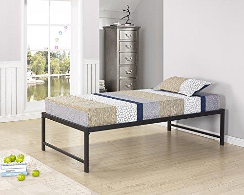 kings king bed frames Kings Brand Furniture - Black Metal Twin Size Platform Daybed Bed Frame