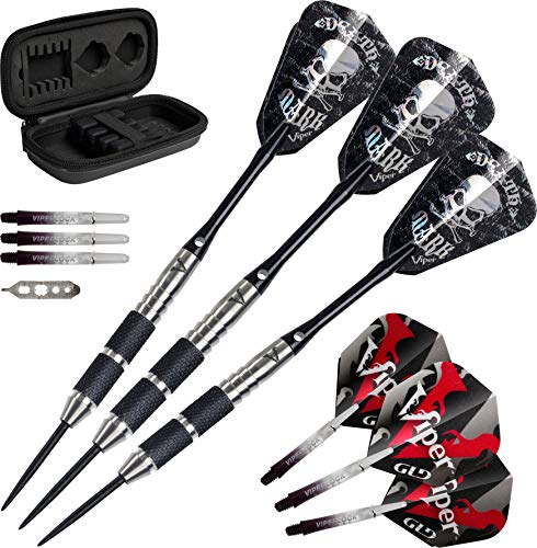 Great Price! Viper Desperado 80% Tungsten Steel Tip Darts with Storage/Travel Case: Death Mark, 24 G...