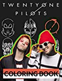Twenty One Pilots Coloring Book: Exclusive Coloring Book About Twenty One Pilots For All Children And Adults Relaxing And Entertaining
