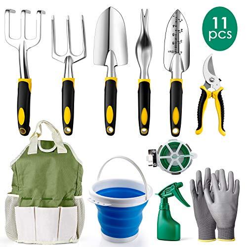 Amzdeal Garden Tool Set Gardenin...