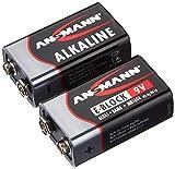 Ansmann Red 5015591 9V - 2X batería alcalina