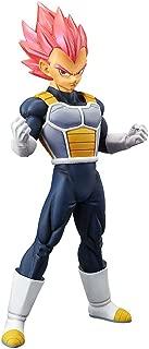 Banpresto 39033/ 10222 Dragon Ball Super Movie Choukokubuyuuden - Super Saiyan God Vegeta Figure