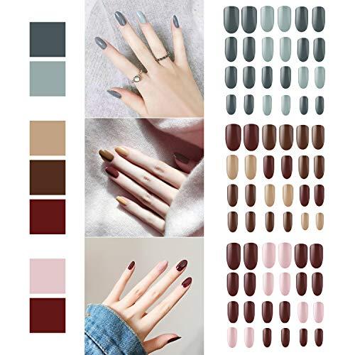 72 pezzi di unghie finte, Segbeauty copertura completa manicure unghie...