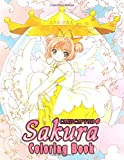 CardCaptor Sakura Coloring Book: 50+ Pages with Premium outline images with easy-to-color, clear shapes, printed on a high-quality paper that can be ... pencils, pens, crayons, markers or paints.