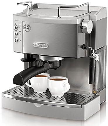 Cafetera de expreso DeLonghi EC702 de acero inoxidable