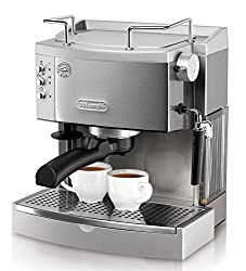 DeLonghi EC702 15-Bar-Pump Stainless Steel Espresso Machine Review