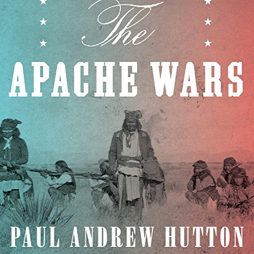 The Apache Wars     The Hunt for Geronimo, the Apache Kid, and the Captive Boy Who Started the Longest War in American History              By:                                                                                                                                 Paul Andrew Hutton                               Narrated by:                                                                                                                                 Jonathan Yen                      Length: 17 hrs and 50 mins     398 ratings     Overall 4.5