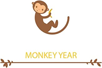 Monkey Year | Blank Lined Notebook